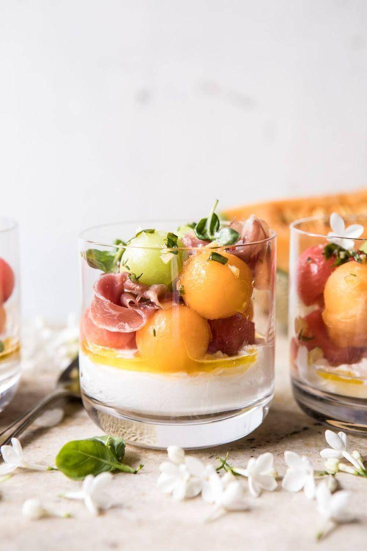 Melon Caprese Salad #melonrecipes