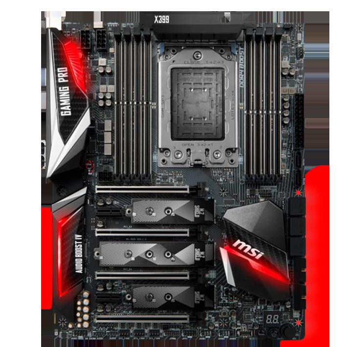 Msi X399 Motherboard Kompyuter