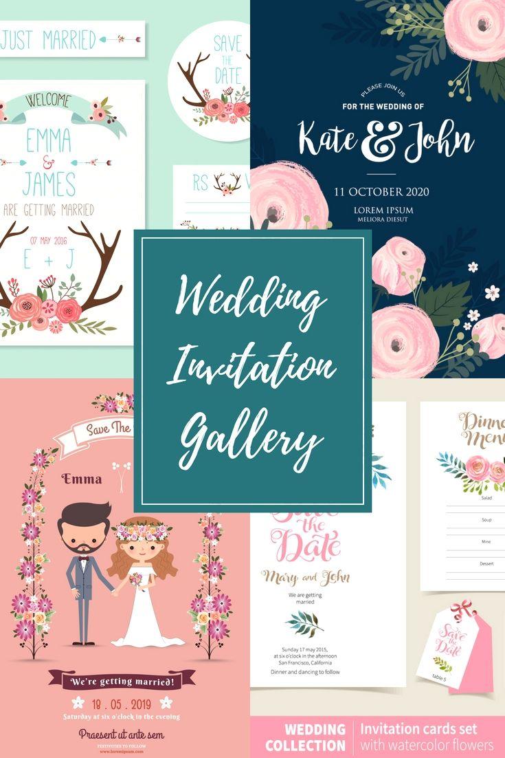 17 Full Exclusive Elegant And Most Economical Wedding Invitation Inspirations
