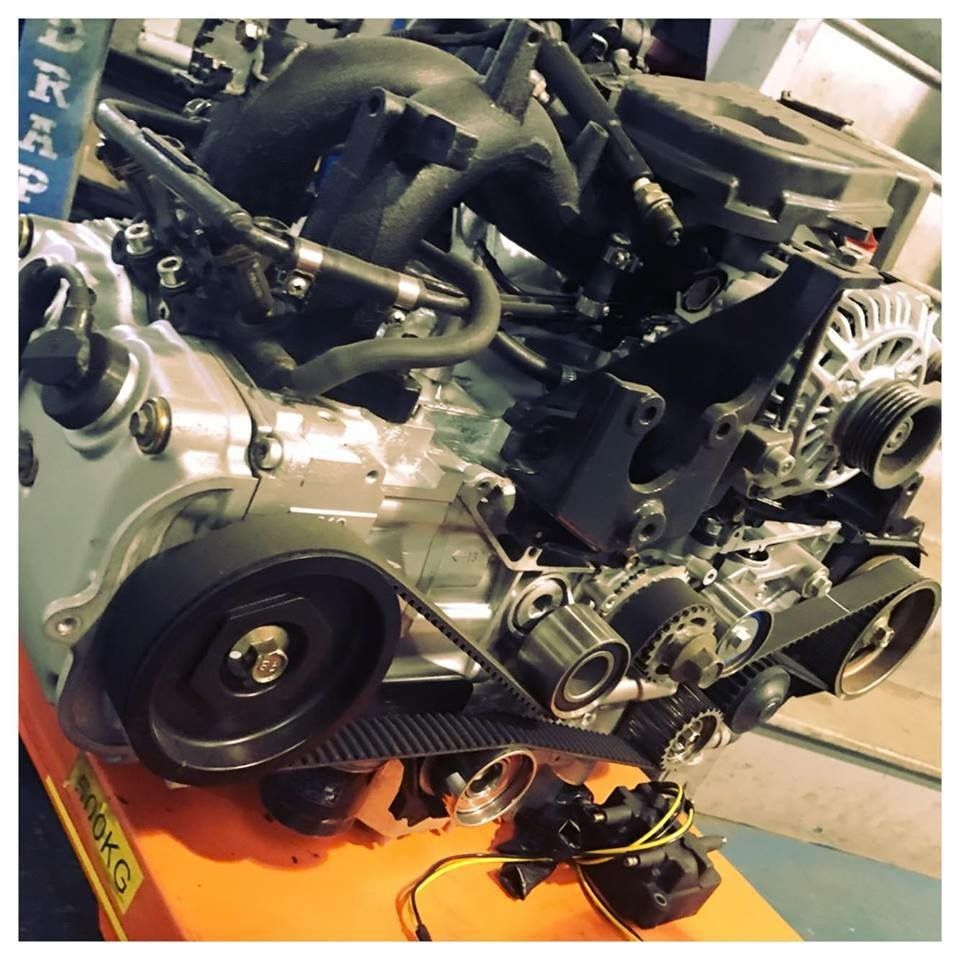 Just building up another Subaru EJ25 2 5ltr engine to go in