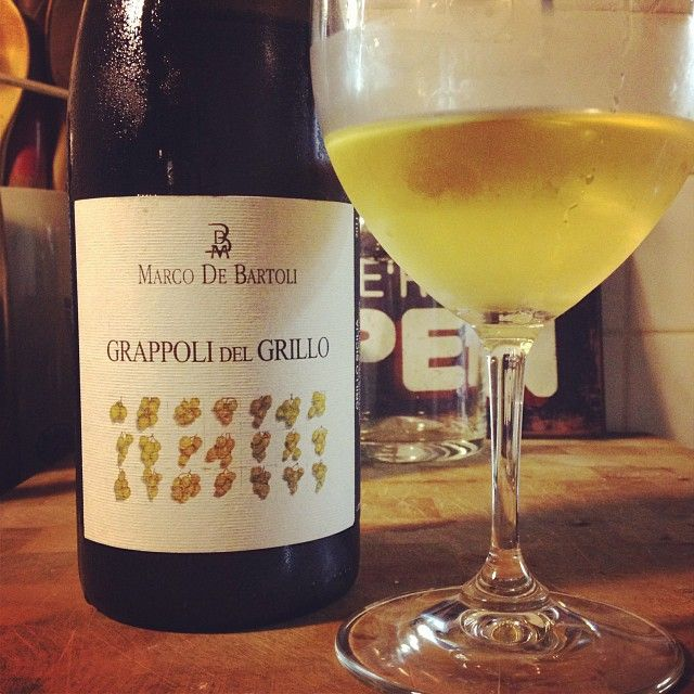 Sicilian Marco de Bartoli Grapolli del Grillo. . #winelover via @Andre Ribeirinho