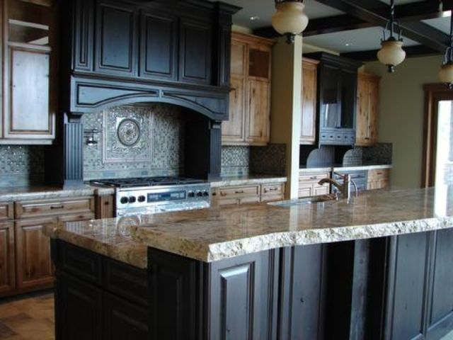 KITCHEN REMODEL: Do You Like A Rustic Style Kitchen? If So, Consider Using  A Rock Face/chiseled Edge On Your Stone Countertop For An Even More Rustic  Look.