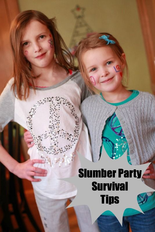 8 Tips for Slumber Party Survival