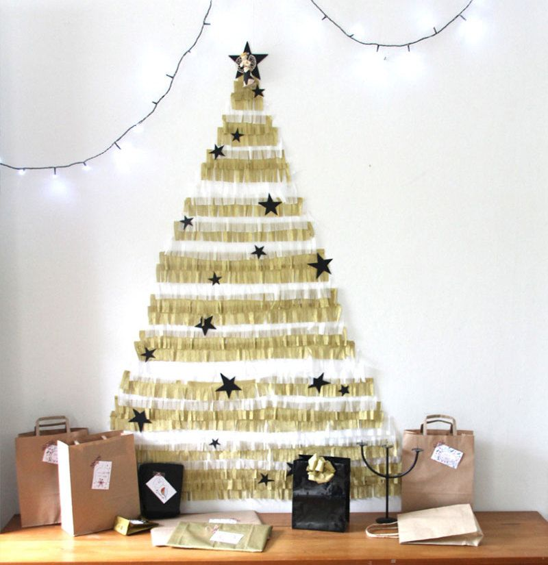 Alternative Christmas Tree Ideas Simple Tree Ideas Wall Christmas Tree Alternative Christmas Tree Diy Christmas Wall