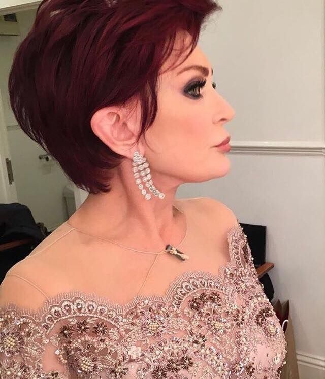 Sharon Osbourne Wears Sassi Holford For The X Factor Final