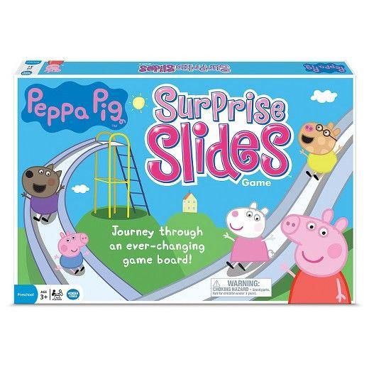Peppa Pig Surprise Slides Board Game