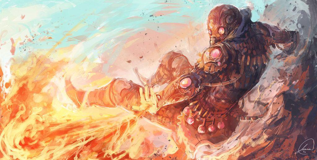 Pyromancer by JasonTN on DeviantArt
