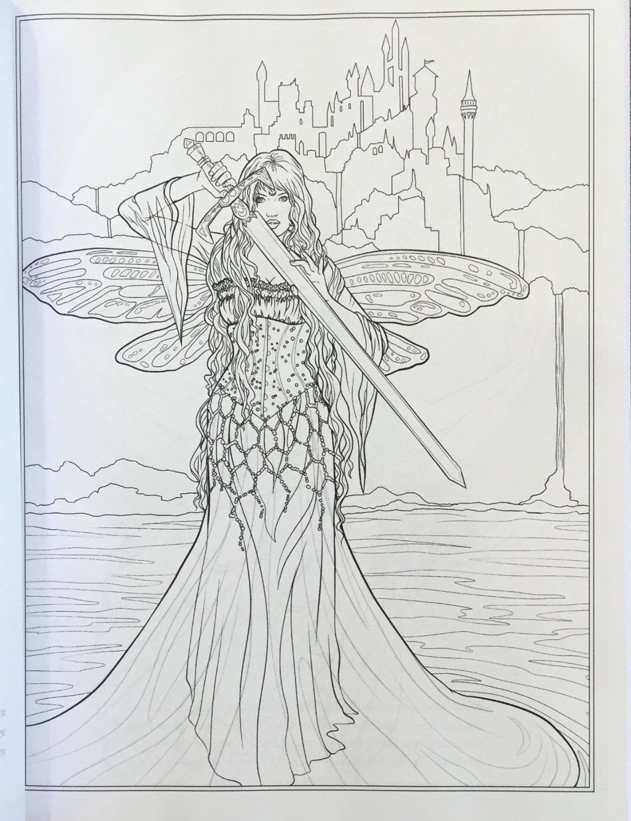 Amazon Com Goddess And Mythology Coloring Book Fantasy Coloring By Selina Volume 9 9780994585 Fairy Coloring Pages Coloring Pages Detailed Coloring Pages [ 1612 x 1240 Pixel ]