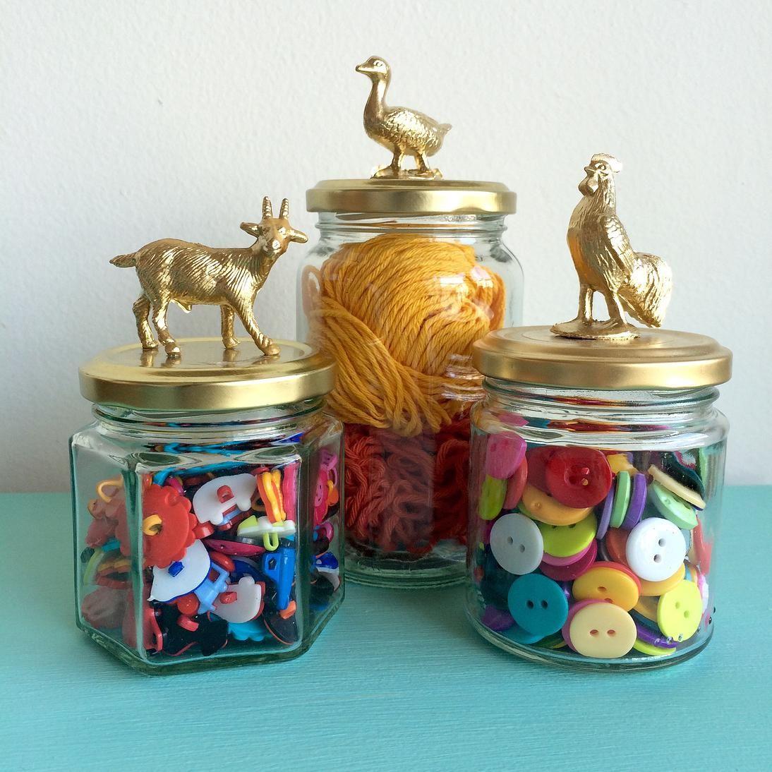 Diy frascos decorados con animalitos diy pinterest - Diy frascos decorados ...