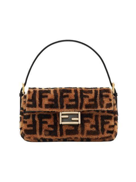 40de52587ddd Shop Fendi printed Baguette handbag
