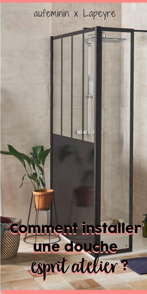 Paroi De Douche Line Prestige Style Atelier Salle De Bains Petit Espace Paroi De Douche Verriere Douche