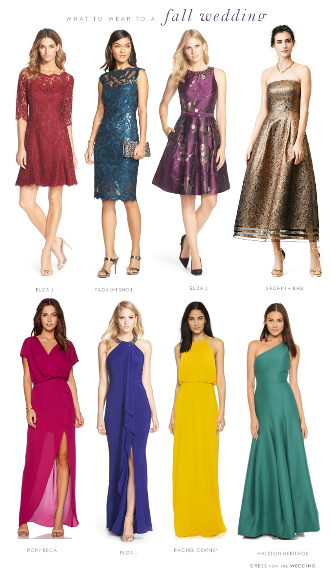 What To Wear To A Fall Wedding Dresses To Wear To A Wedding Cocktail Attire Wedding Attire Guest