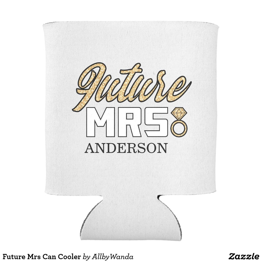 Future Mrs Can Cooler Beer sleeve, Hand