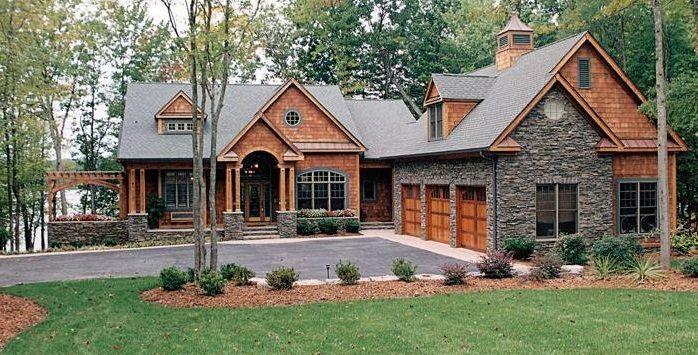 Planos casa elegante rustica lo bueno exterior