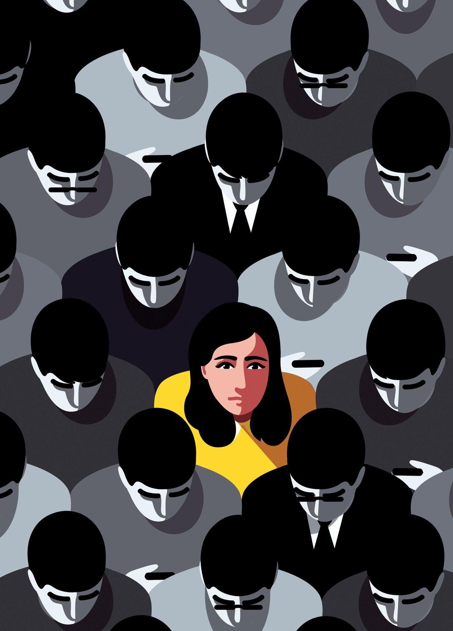 The Disrupters Discrimination Art Illustration Communication Art