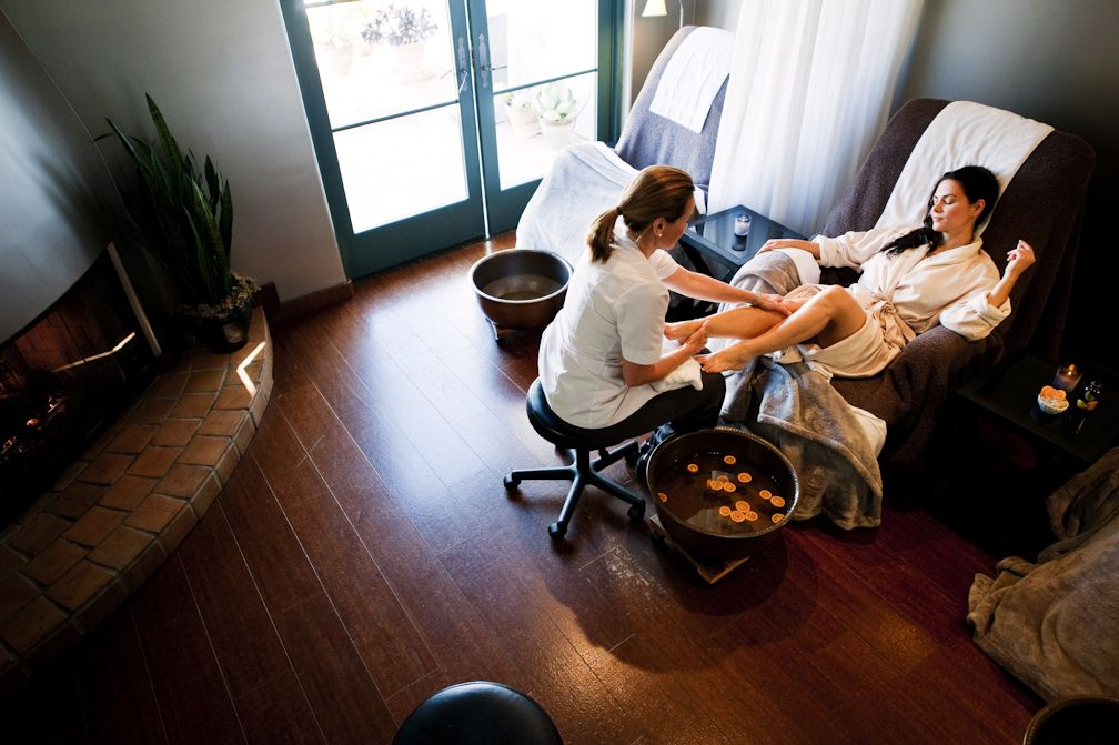 Craving a little pampering book a pedicure at spa ojai for Gravity salon
