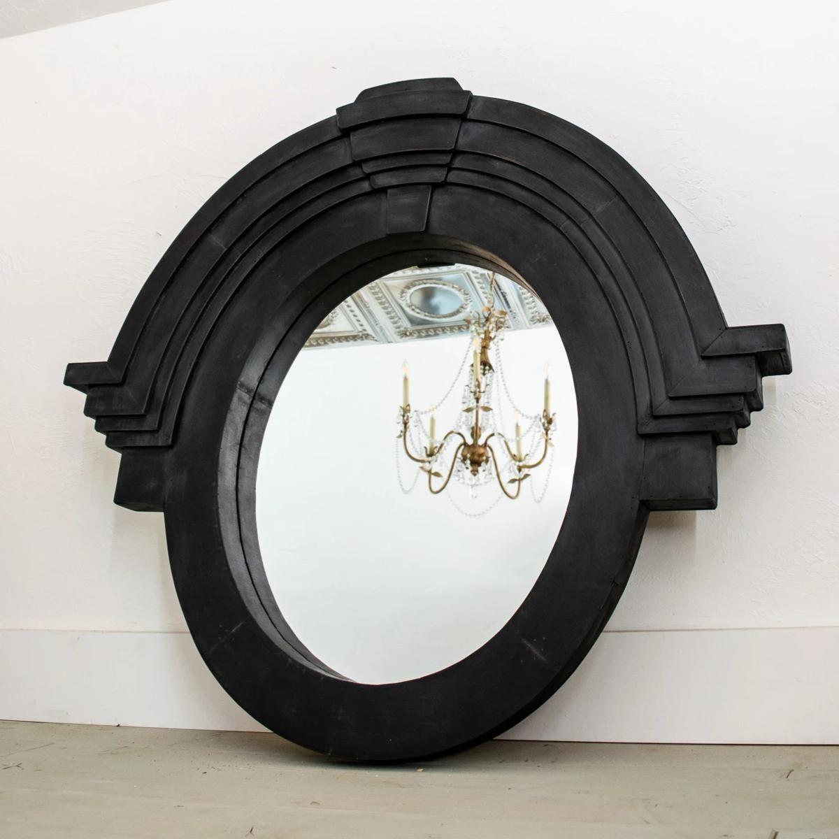 Black mirrorarchitectural mansard mirror in 2020