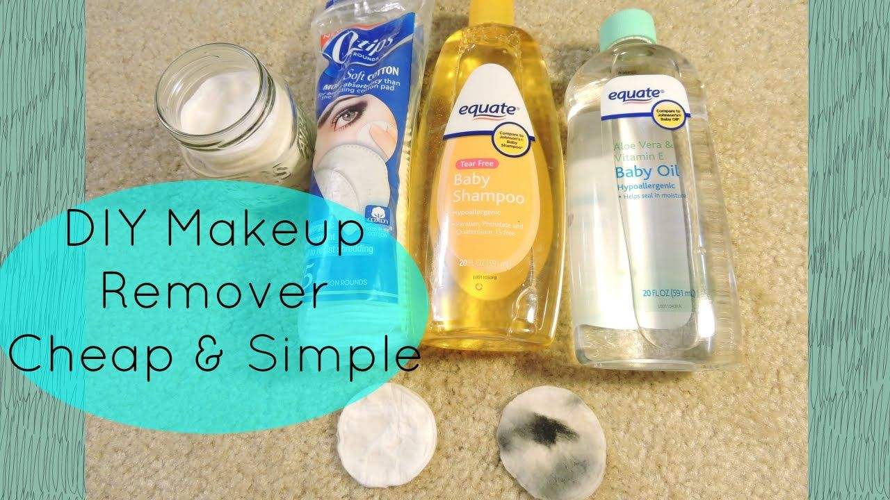 DIY Makeup Remover For Sensitive / Acne Prone Skin Diy