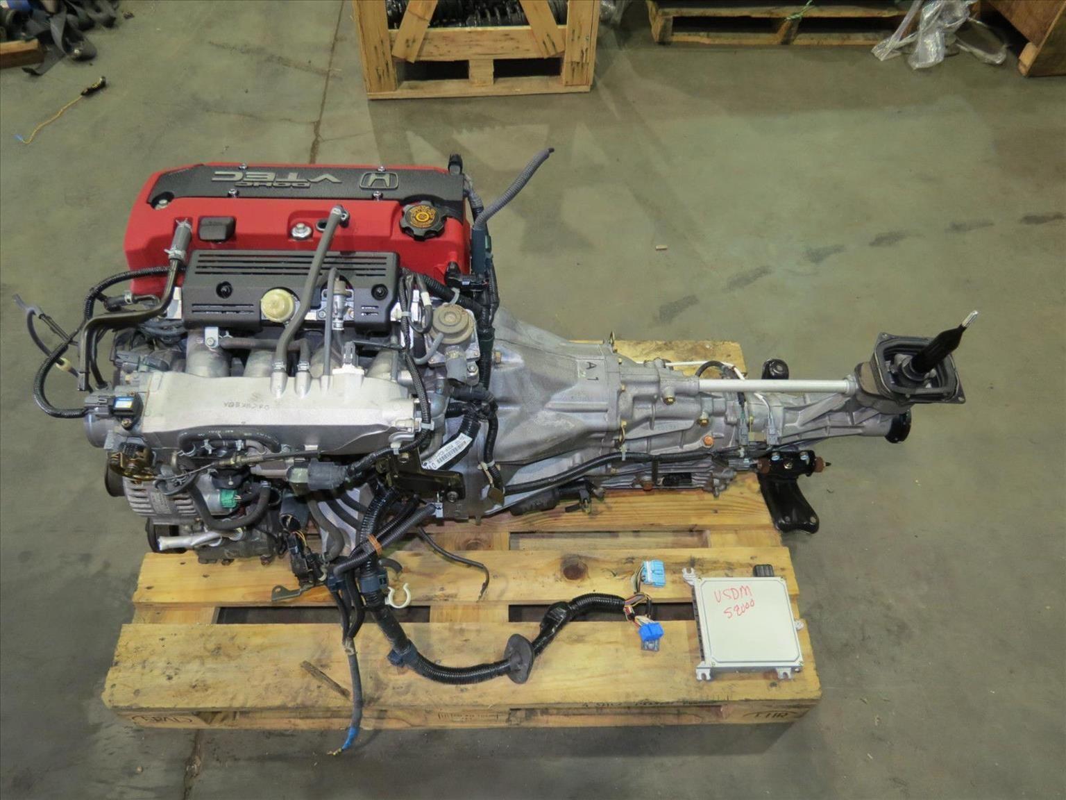 Jdm Honda S2000 Ap1 F20c Engine 2 0l Dohc Vtec Motor 6 Speed With Diff Axles Jdm Honda Honda S2000 Vtec