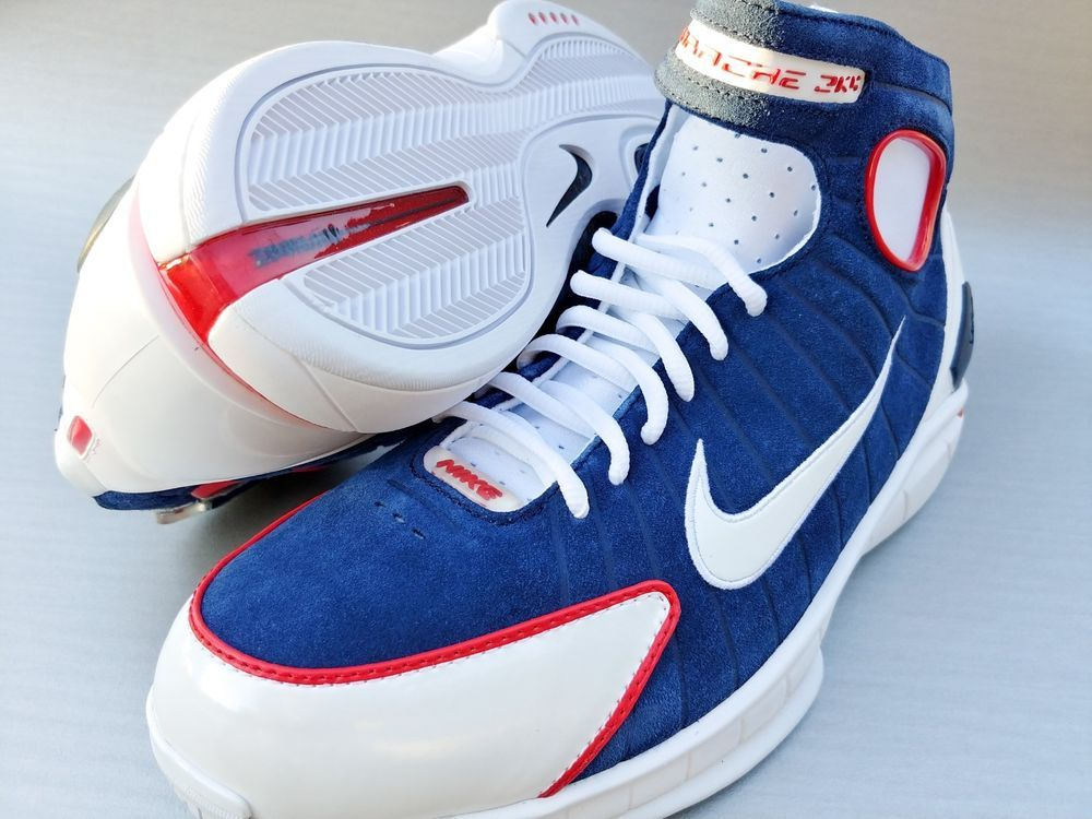 054f680b3fe8 Nike Air Zoom Huarache 2K4 Retro USA Olympics 308475 400 Msrp  150 Size  10.5  fashion