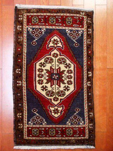 トルコ手織りウール絨毯マットサイズ[AC-005] by HEREKEJAPAN, http://www.amazon.co.jp/dp/B00ESWYI0Y/ref=cm_sw_r_pi_dp_gscMsb1HA3B92