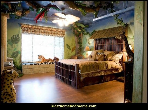 Decorating Theme Bedrooms Maries Manor Jungle Theme Bedrooms Safari Jungle Themed Wild Animals Ju Jungle Bedroom Theme Bedroom Themes Jungle Theme Rooms
