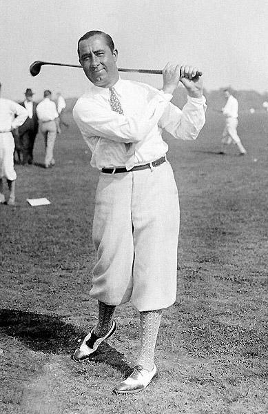 Walter Hagen style   Golf history, Golf fashion, Vintage golf