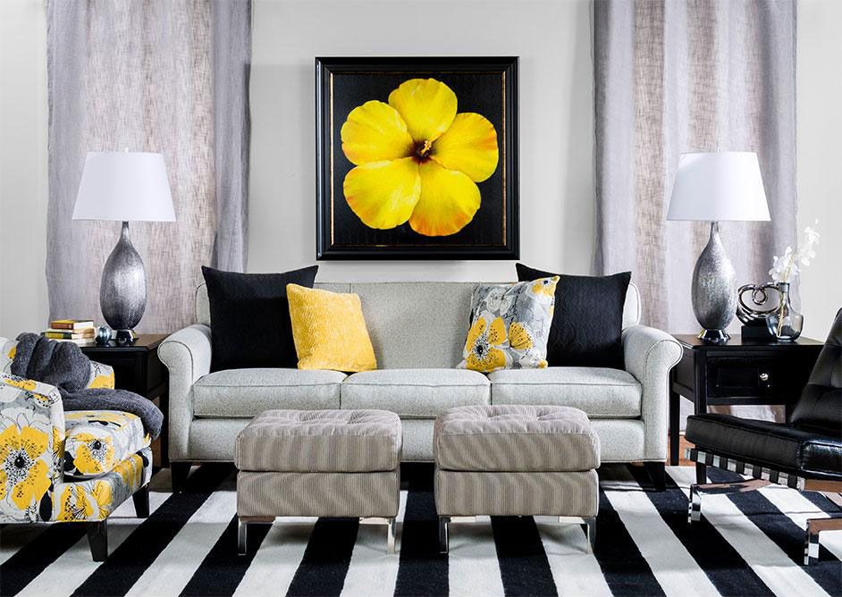 Living Spaces: Contemporary Chic. What Most People See As A Living Room  Setting,