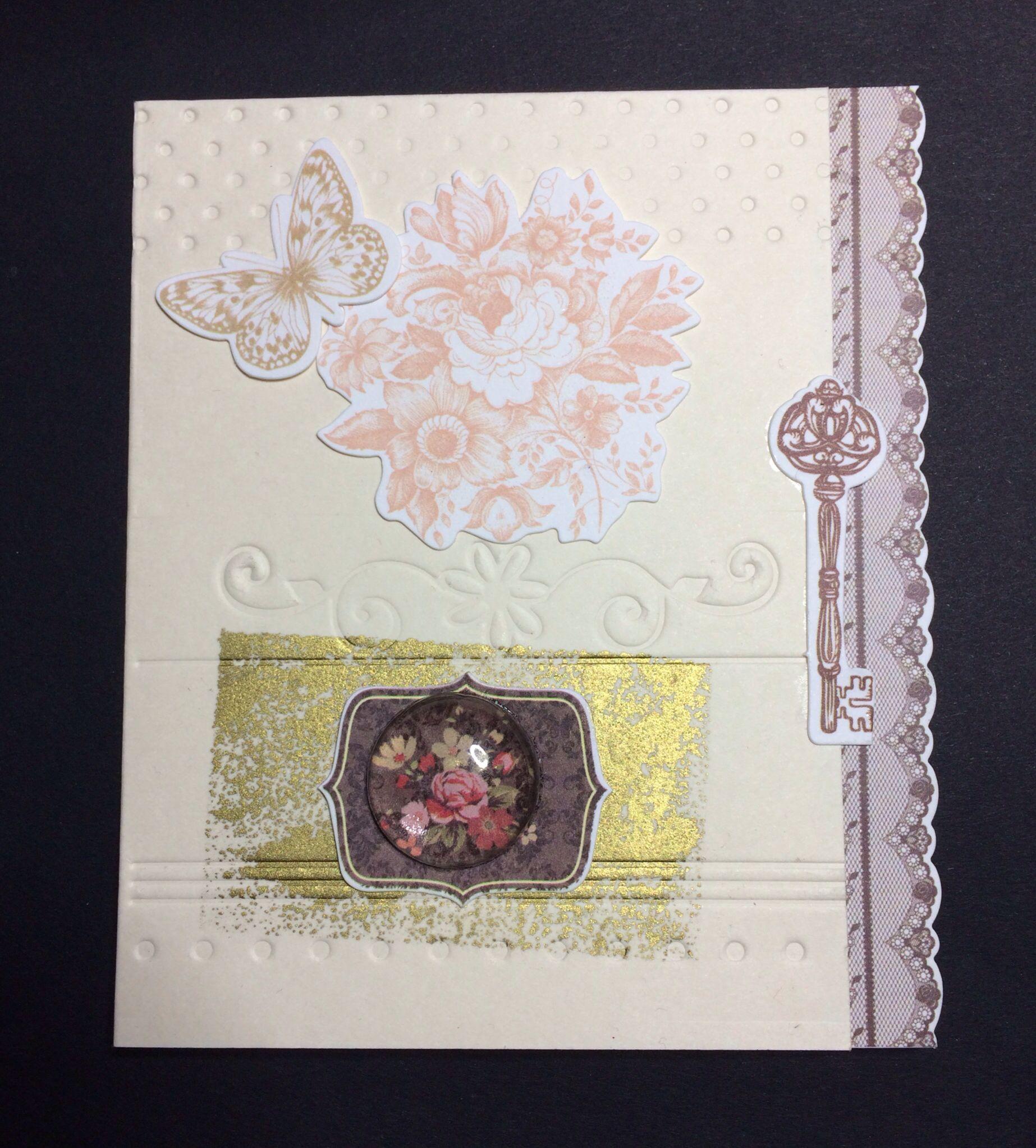 a romantic card