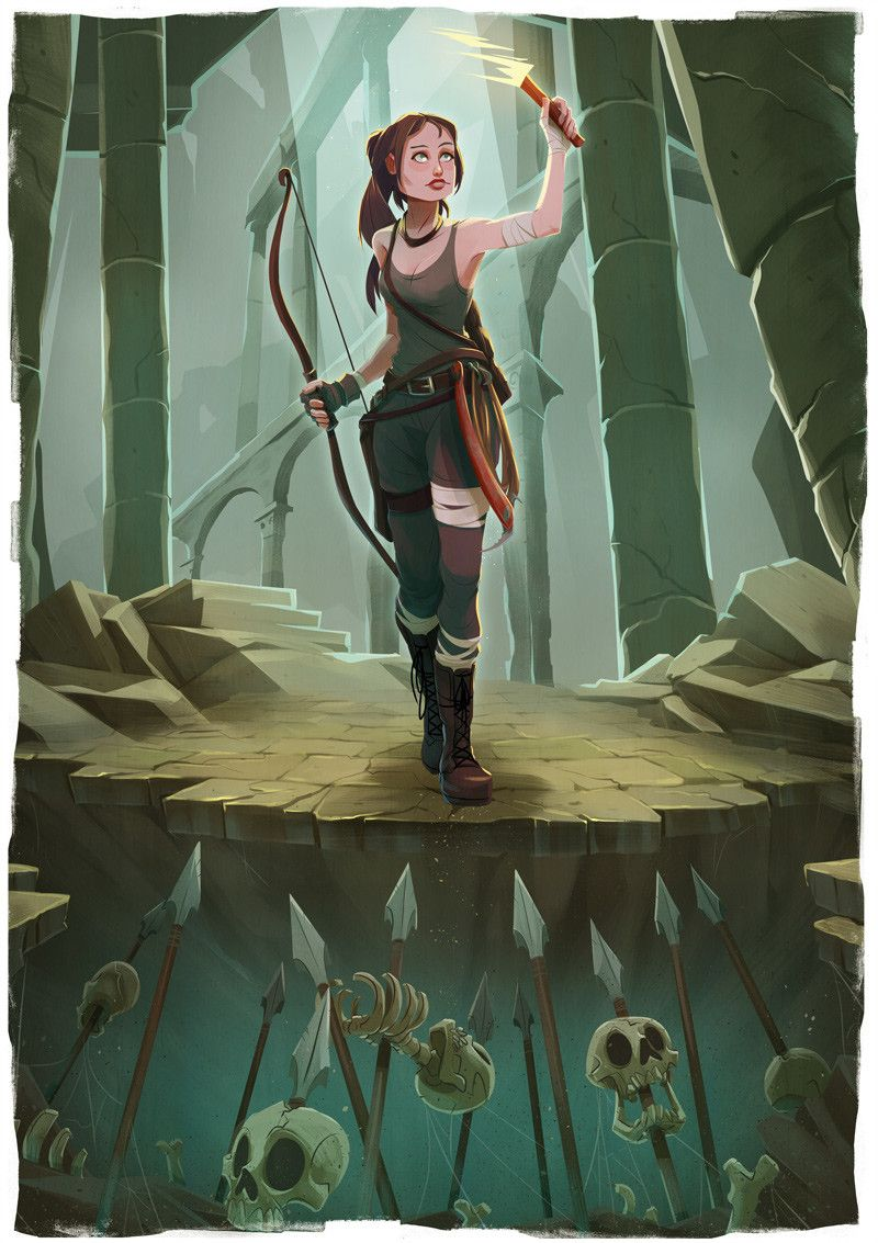 Tomb Raider Dave Collinson On Artstation At Tomb Raider Relic