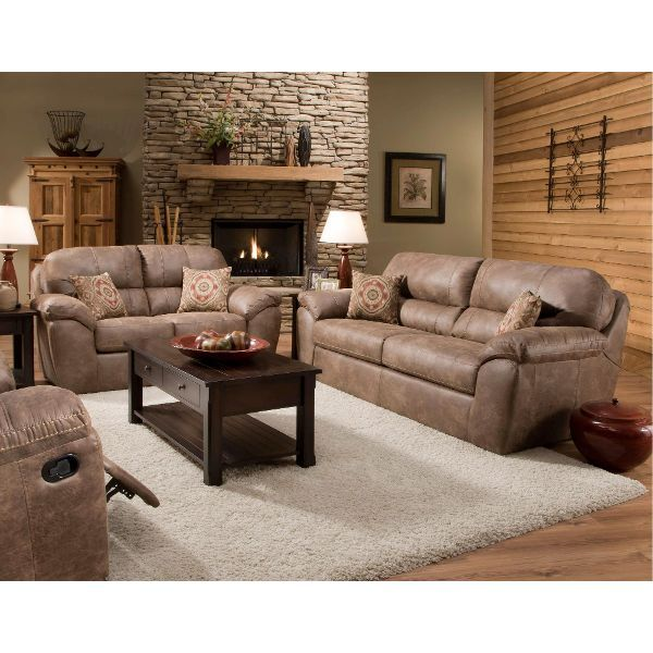 Peachy Casual Contemporary Brown Sofa And Loveseat Group Ulyses Evergreenethics Interior Chair Design Evergreenethicsorg