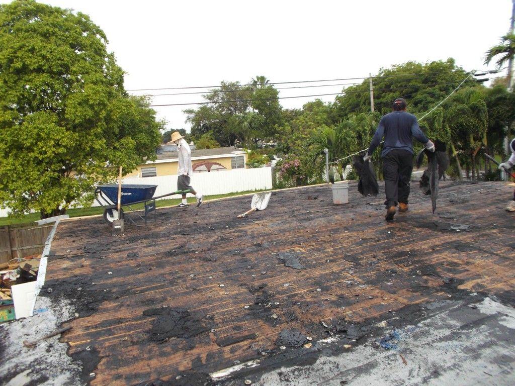 New Flat Roof And Repair Flat Roof Repair Roof Repairs New Roofs In Miami Flat Roof Repair Roof Architecture Roof Repair