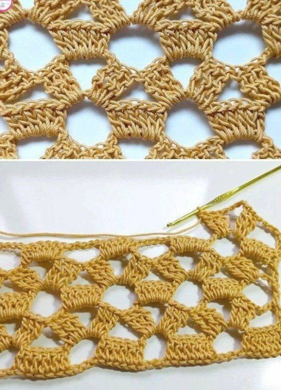 How to Easily Crochet Lace Stitch Free Pattern #fitness #healthy #yoga #beforeandafter #fittips #mot...