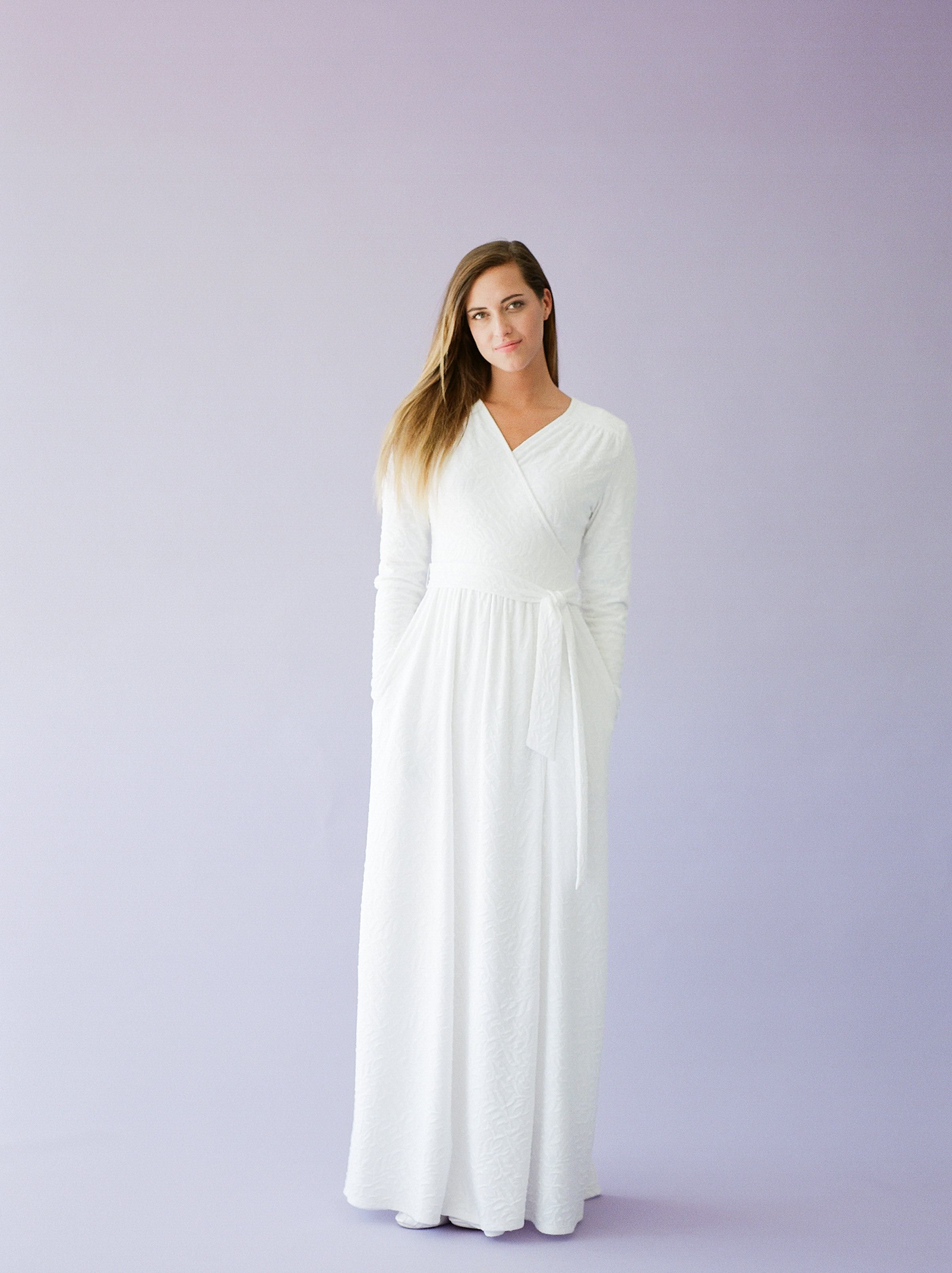 30 Stunning Temple Dresses Any Latter Day Saint Woman Would Love To Wear Temple Dress Lds Temple Dress Dresses [ 3220 x 2410 Pixel ]
