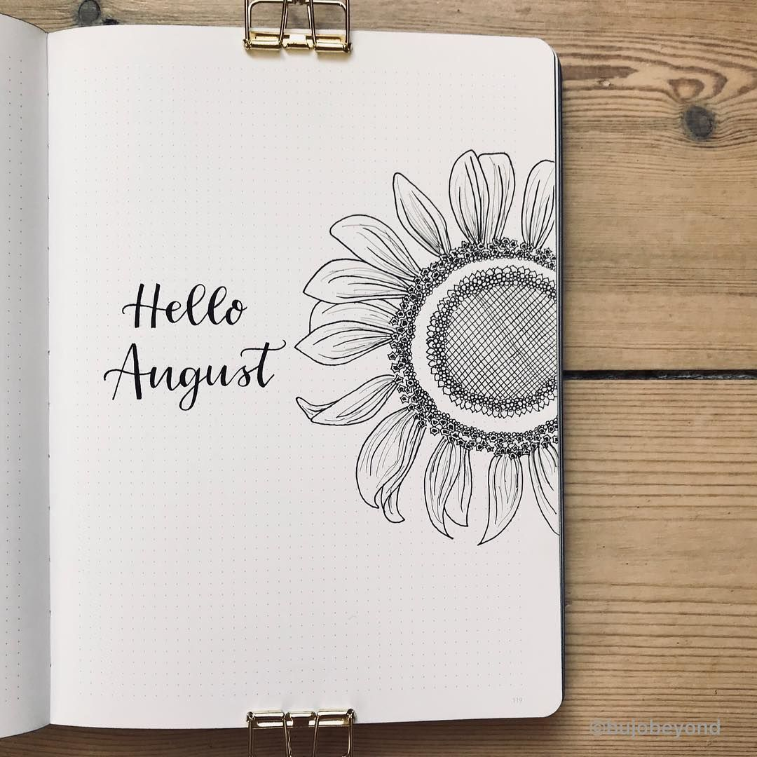 How To Do A Cover Page Impressive August Cover Page  Kept This One Relatively Simpledebating .