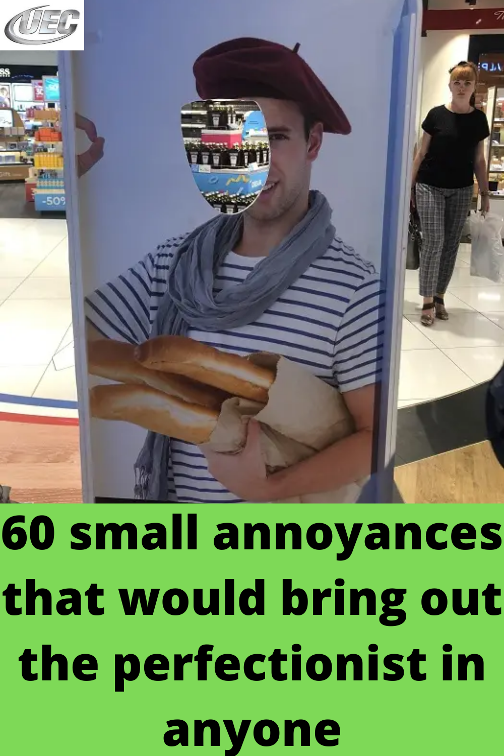 60 small annoyances that would bring out the perfectionist in anyone