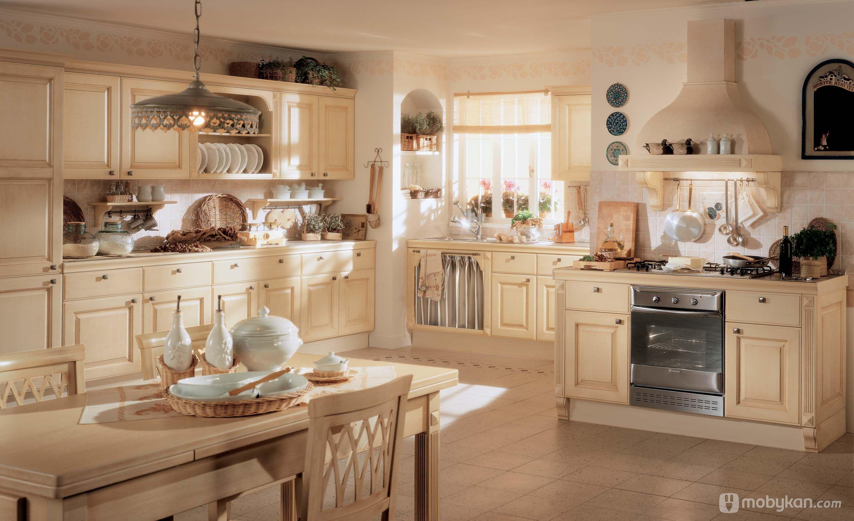 صور مطابخ حديثه و اشكال مطابخ مودرن و مميزه من موبيكان Classic Kitchen Design Modern Kitchen Furniture Classic Kitchens