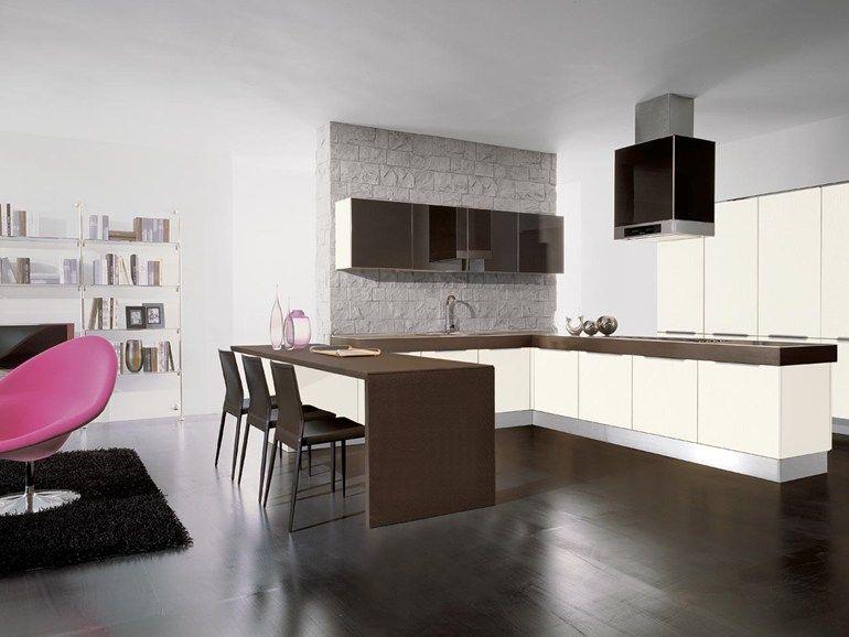 Cucina componibile con maniglie Collezione Nilde Grès by Cucine ...