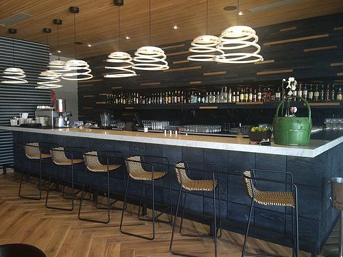 The Randa Chair by Debi. Installation at KOI in Fourways JHB. Available from SW Contracts. 011 262 3521. www.swcontracts.co.za