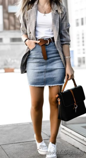 15 Best Adorable Streetsyle Winter Outfits With Skirt