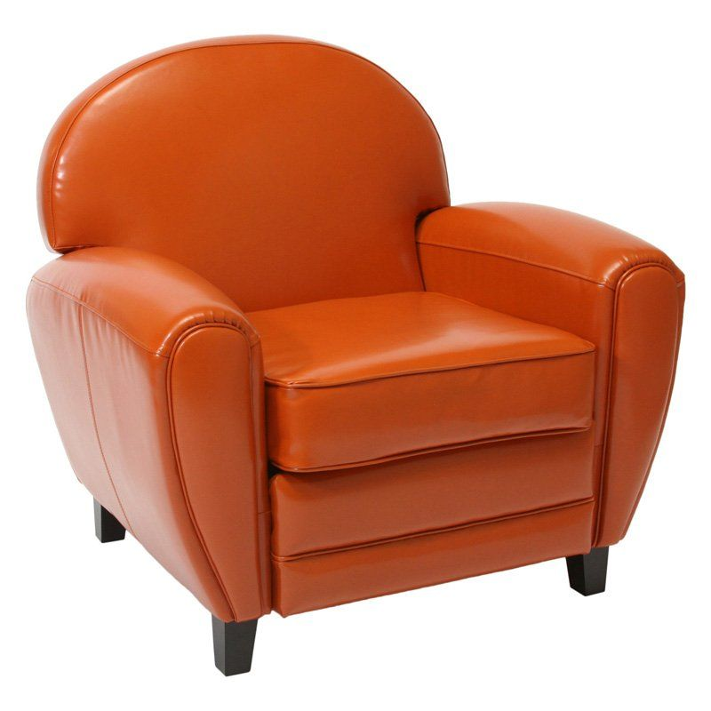 Admirable Have To Have It Burnt Orange Leather Cigar Chair 472 5 Pdpeps Interior Chair Design Pdpepsorg