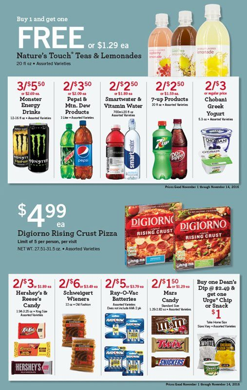 Kwik Trip Inc In Store Specials Energy Drinks Get One Trip