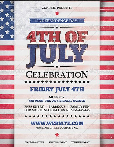 image result for patriotic flyer 4th of july pinterest 4th of