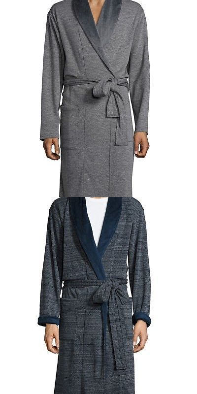 Sleepwear and Robes 11510  Ugg Mens Robinson Lightweight Double-Knit Fleece  Robe -  BUY IT NOW ONLY   65 on eBay! b5425e8b8