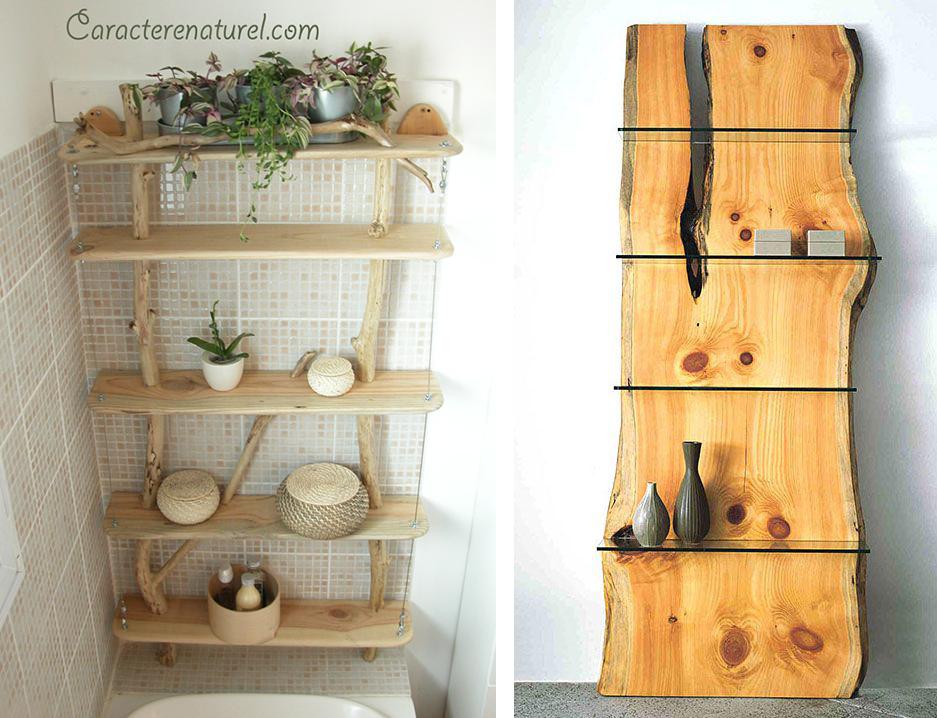 la fabrique d co diy id es d co avec des souches des b ches ou du bois flott d coration. Black Bedroom Furniture Sets. Home Design Ideas