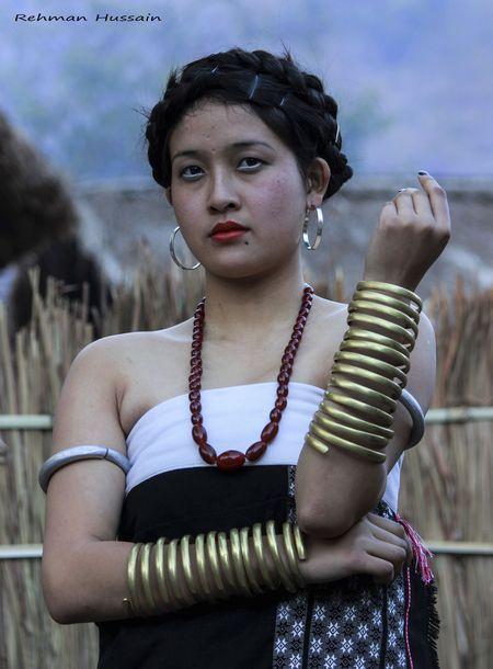 Kuki Naga Tribe, Nagaland, India, (Photo by Rehman Hussain