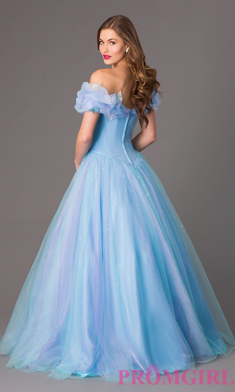 ed3016c82833 Image of Disney Cinderella Forever Enchanted Keepsake Gown Style:  XC-CN-35801 Back