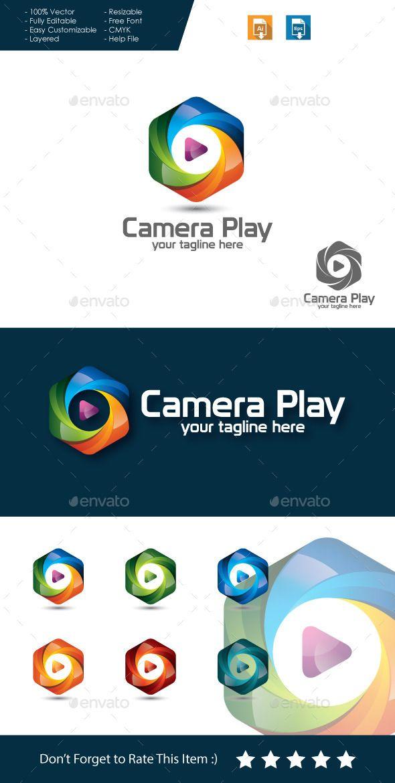 Camera Play Logo Pinterest Logos Logo Templates And Cameras