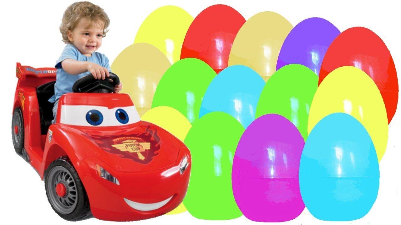 Kinder Surprise Surprise Eggs Cars Disney Pixar Cars  Киндер