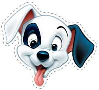 photo about Dalmation Printable named 101 Dalmatians Printable Masks and printables dalmatian